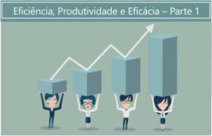 Eficiência, Produtividade e Eficácia – Parte 1